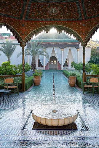 Le jardin secret marrakech l architecture for Le jardin secret marrakech