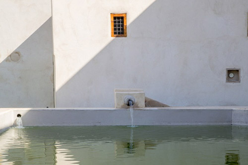 L'eau : Le Jardin Secret Marrakech